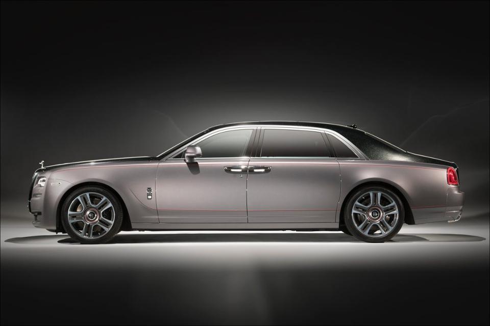 Rolls-Royce prezentuje diamentową wersję Ghost