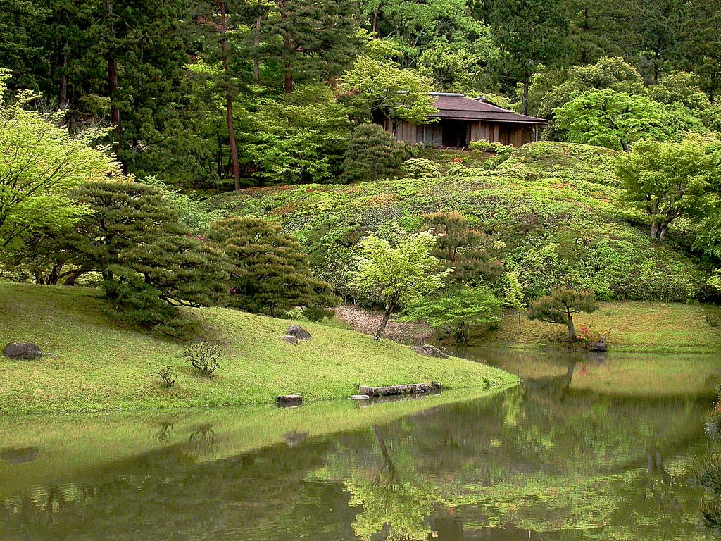 oogród japoński Shugaku-in