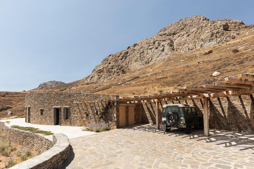 sinas-architects-kamienny dom letni na wyspie serifos 05