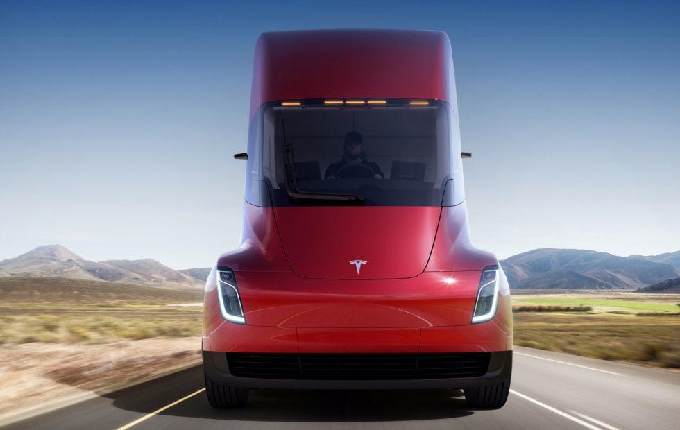 Autonomiczna ciężarówka Tesla