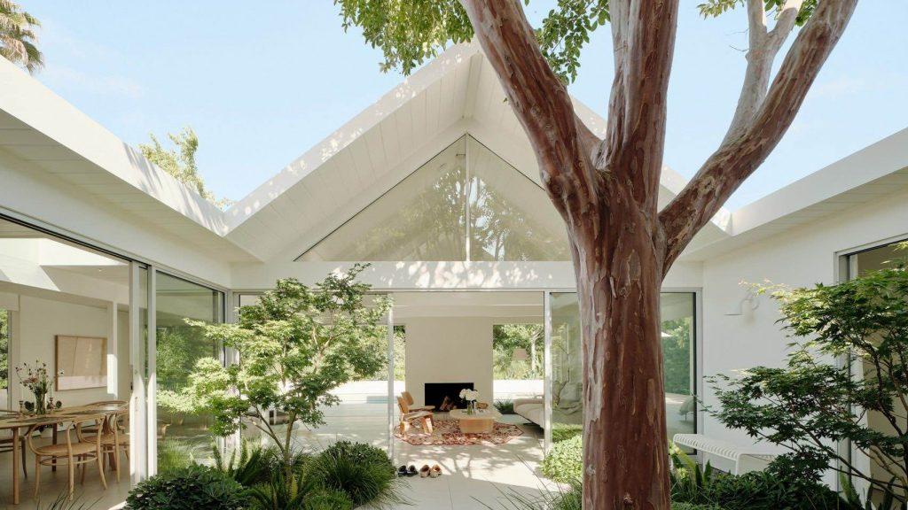 twin-gable-house-eichler-model-ryan-leidner-amerykański modernizm 01
