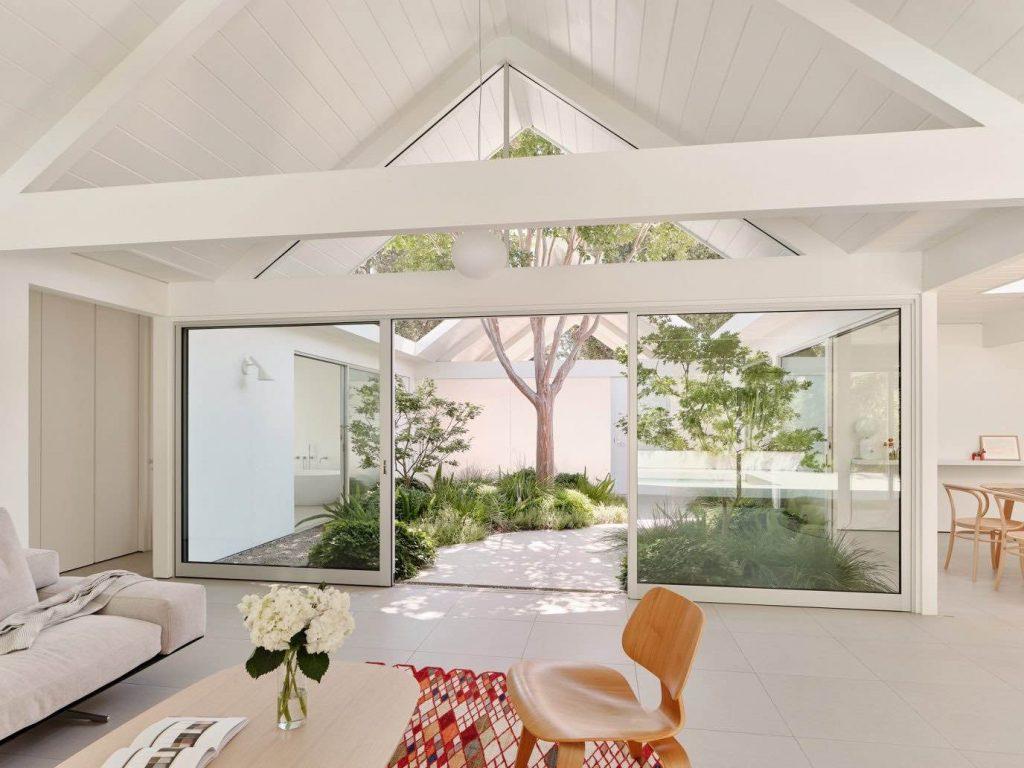 twin-gable-house-eichler-model-ryan-leidner-amerykański modernizm 05