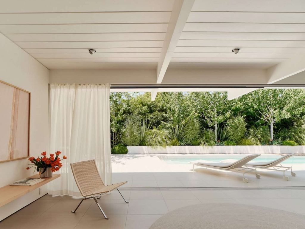 twin-gable-house-eichler-model-ryan-leidner-amerykański modernizm 07