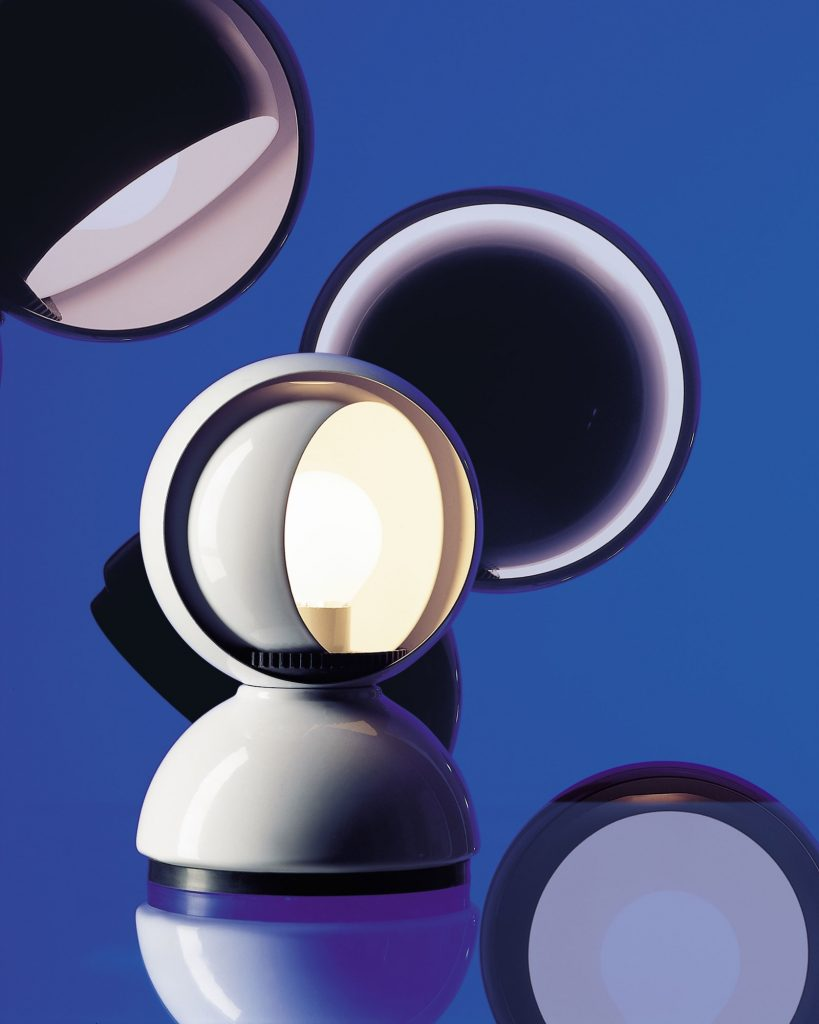 Lampa Eclisse marki Artemide, projekt: Vico Magistretti