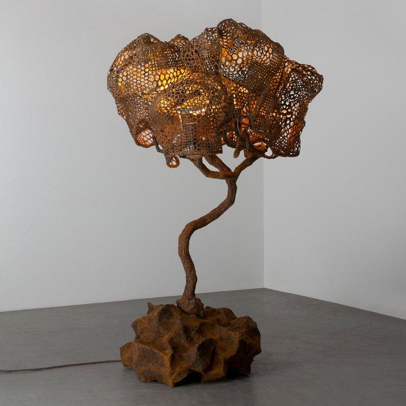 wirtualna wystawa -riverside-nacho carbonell, 'orange cortex tree (151_2019)'