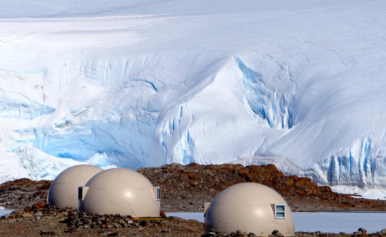 Whichaway Camp na Antarktydzie