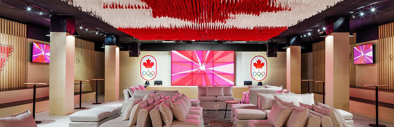 Kanadyjski Dom Olimpijski projektu  Yabu Pushelbergh