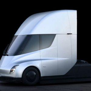 Autonomiczna ciężarówka Tesla Semi