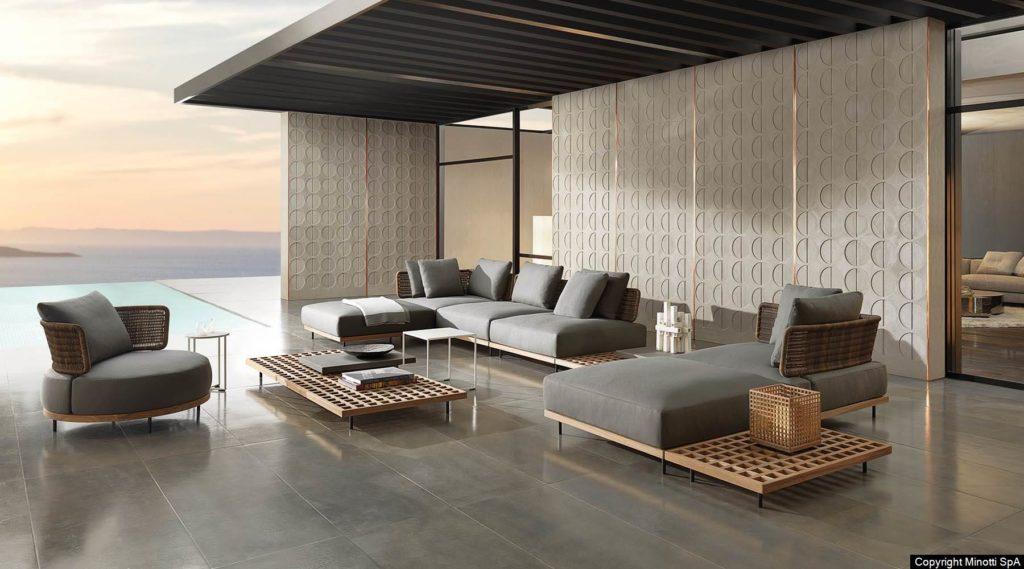 Minotti quardado design Studio MK27 - Marcio Kogan