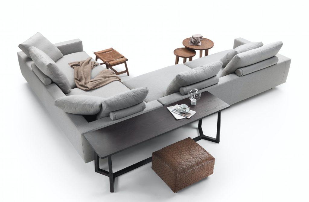 Sofa Campiello - projekt Antonio Citterio, 2018