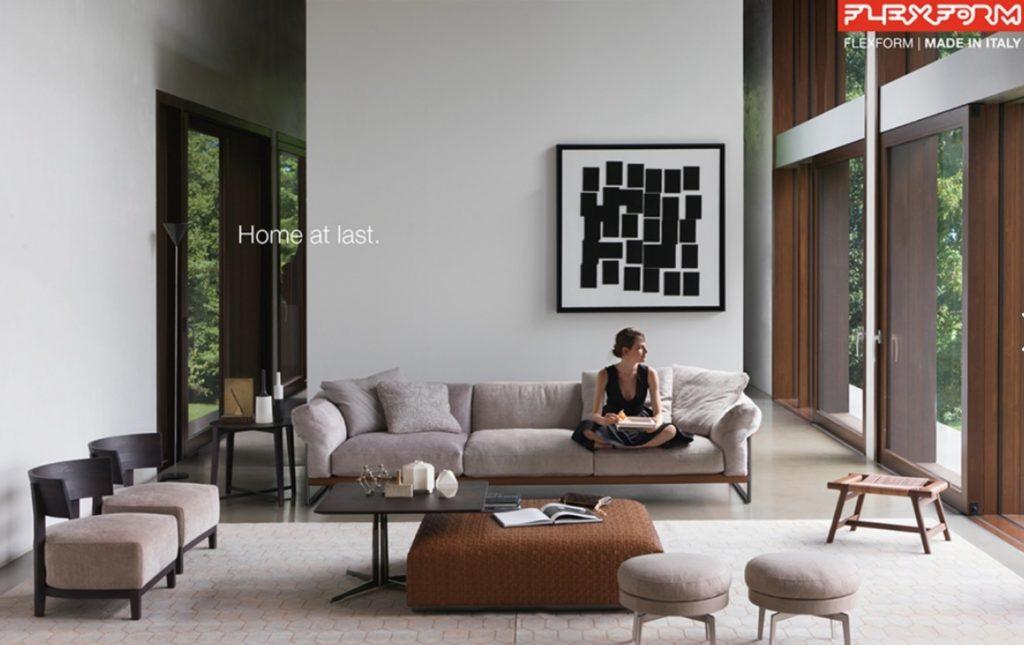 Sofa - flagowy produkt marki Flexform.