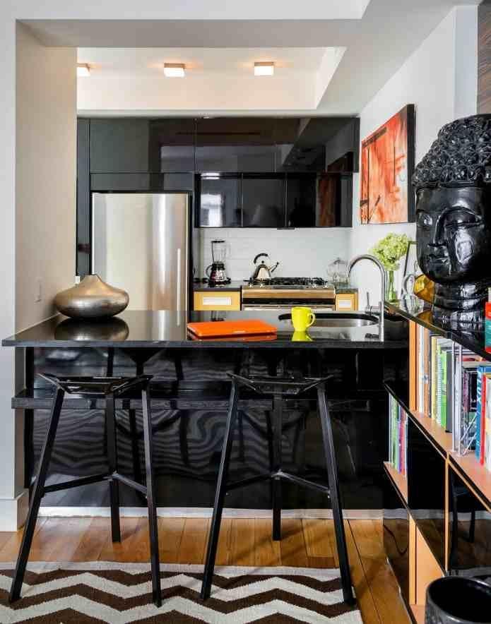 The Evans apartment