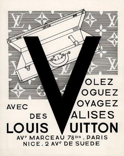 Louis Vuitton – Volez, Voguez, Voyager…