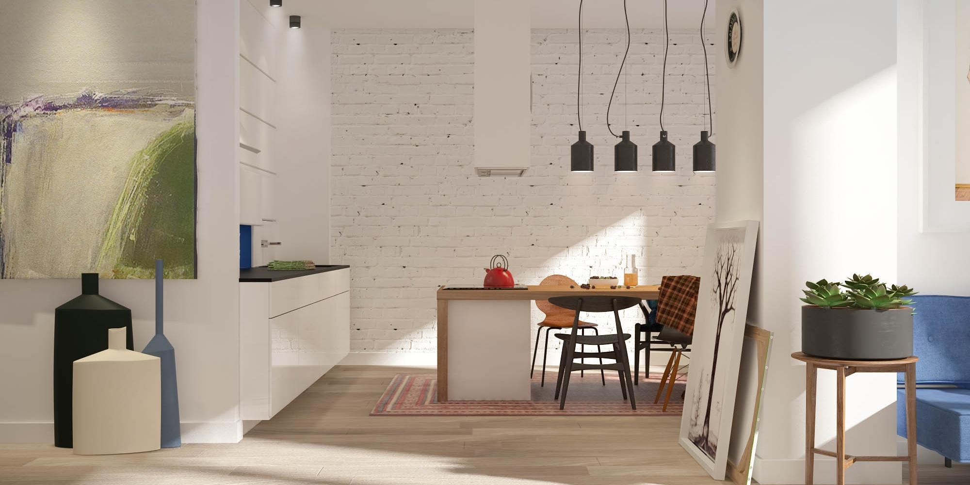 Mały apartament w wielkim stylu