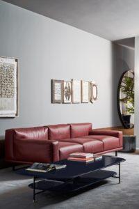 21 - fot.Mood-Design_Meridiani - salone 2019 - timothy sofa - adrian low table