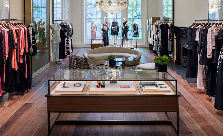 Londyński butik Elie Saab