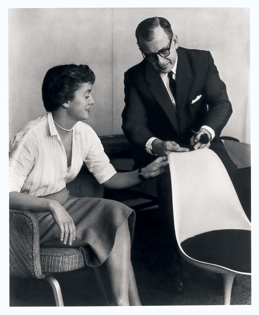 Florence Knoll i Eero Saarinen