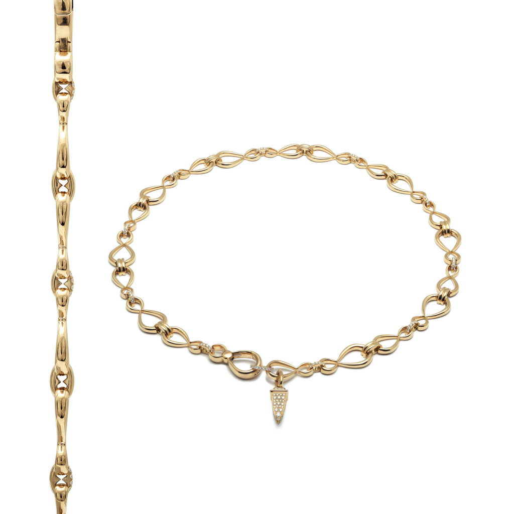 Antonini_Anniversary100 collection - collier yellow gold