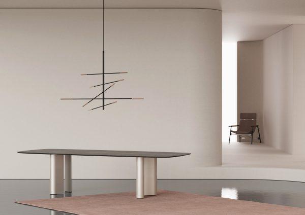Bonaldo_Geometric Table_ we wnętrzu
