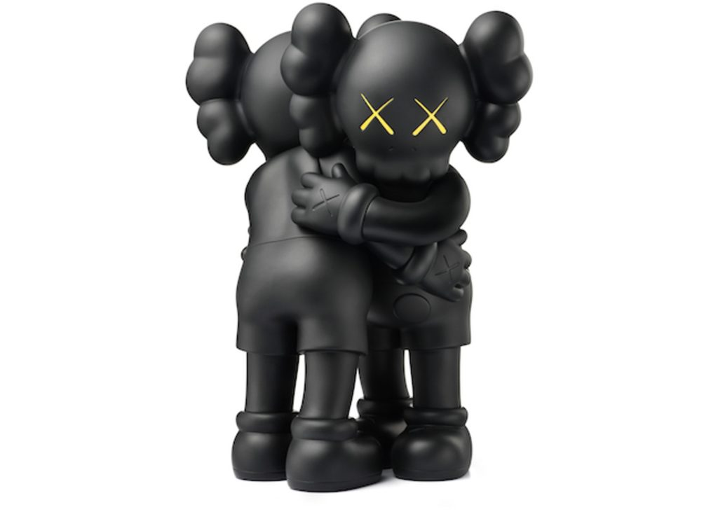 Dzieła_sztuki Brain.Damage.Gallery.Kaws-Together-Vinyl-Figure-Black