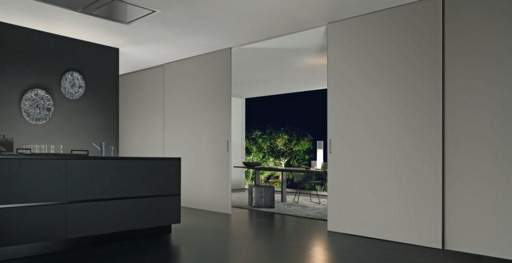 Drzwi przesuwne Graphic Light Rimadesio Studio Forma 96_foto