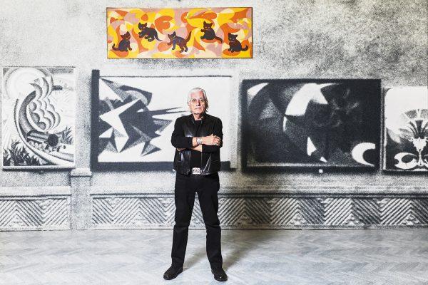 Germano Celant - zdjęcie Ugo Dalla Porta