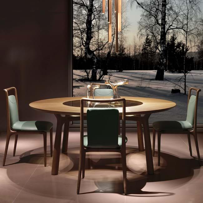 Giorgetti-Ibla krzesła do salonu