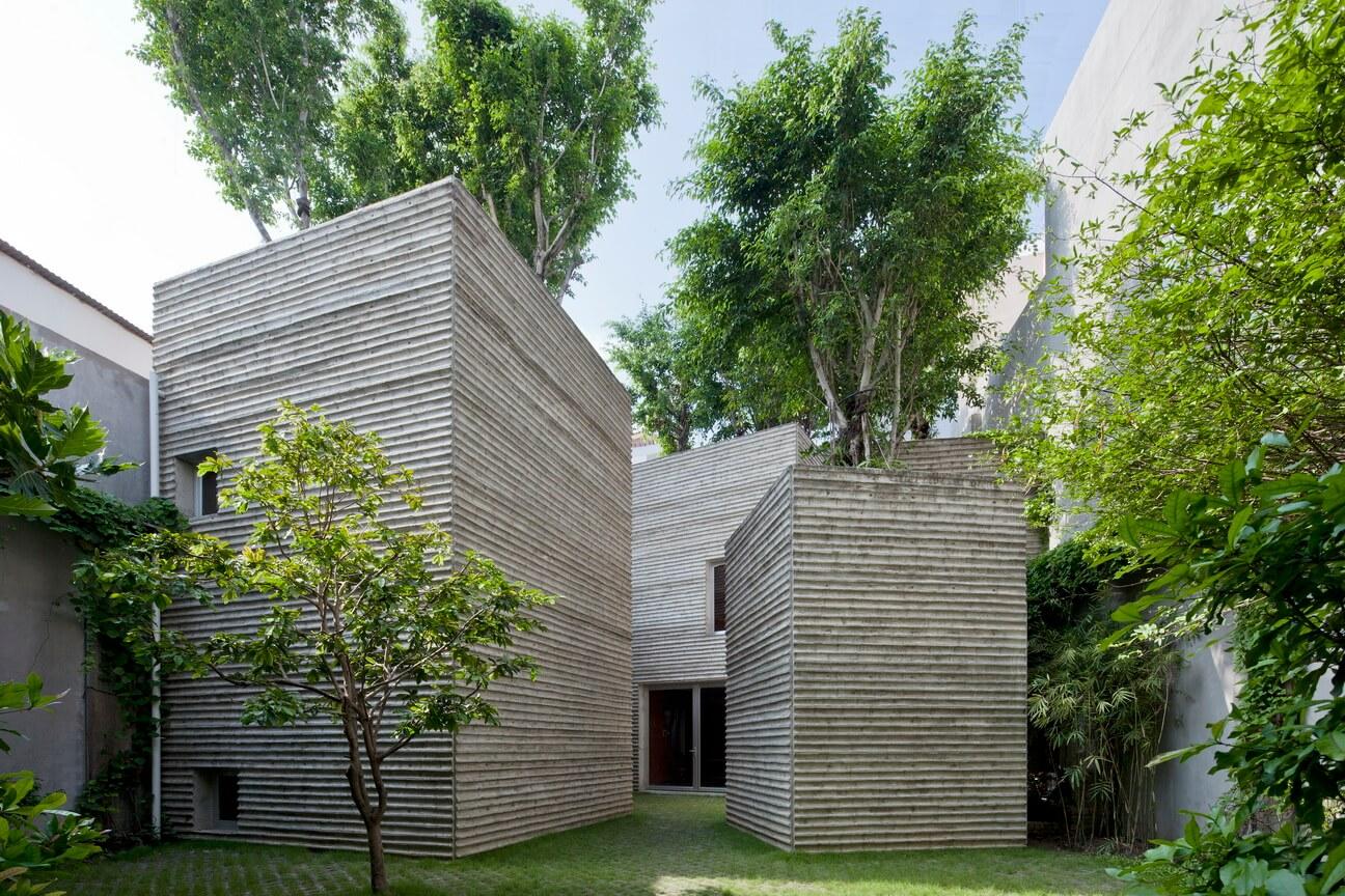 Ekologiczne domy – drzewa w Ho Chi Minh