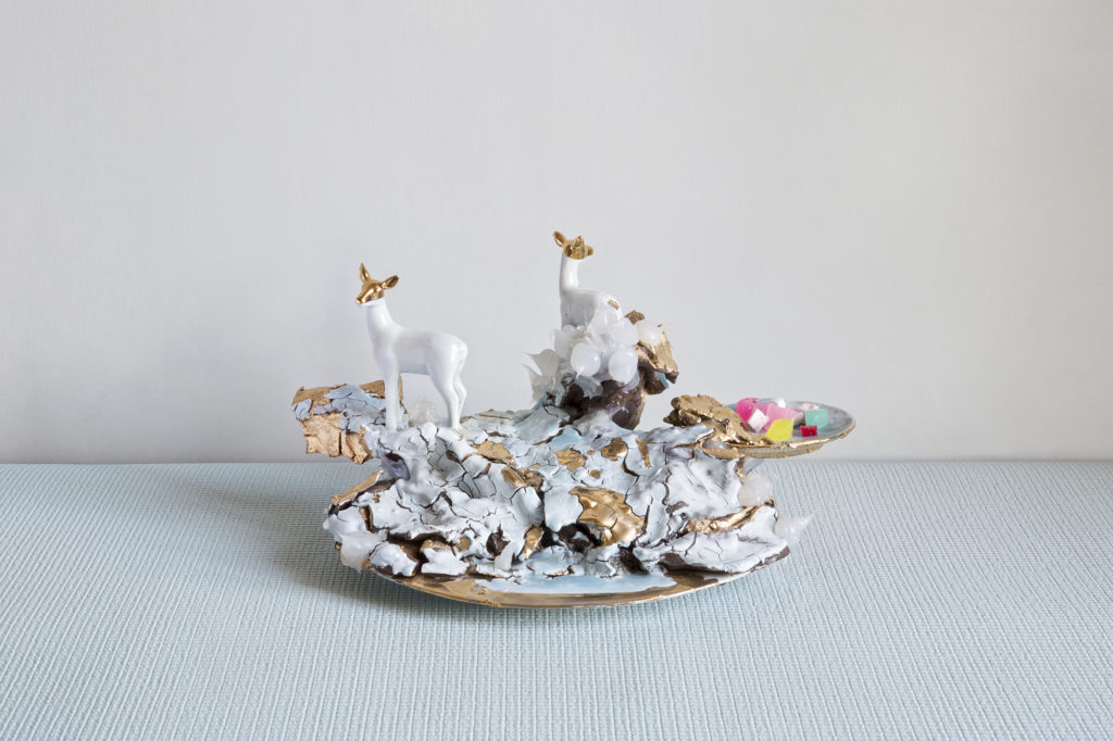 Dekoracja stołu sztuką Coralli Maiuri01