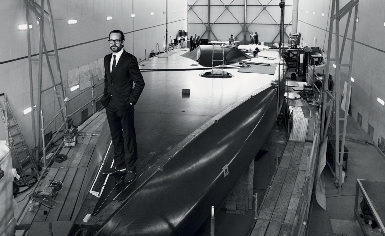 Konstantin Grcic projektuje jacht Hugo Boss