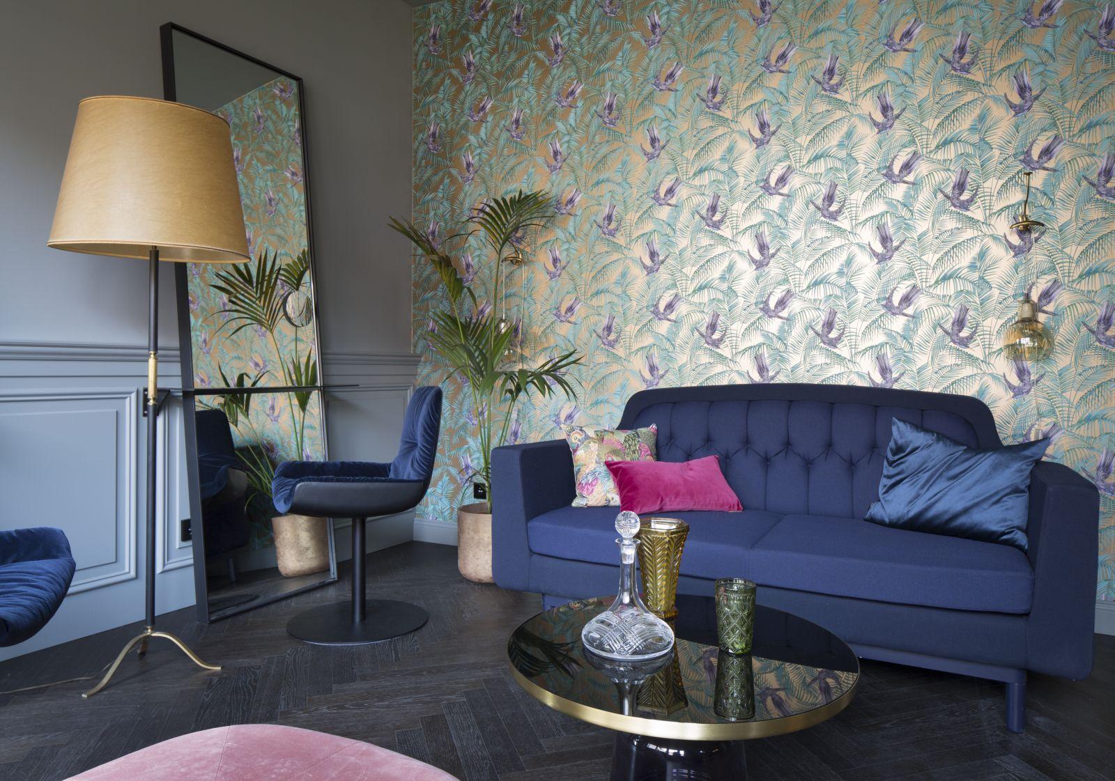 Eklektyczny apartament w Berlinie