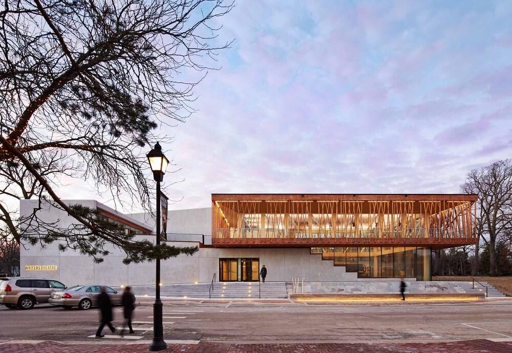 Nowoczesne centrum kultury w Chicago