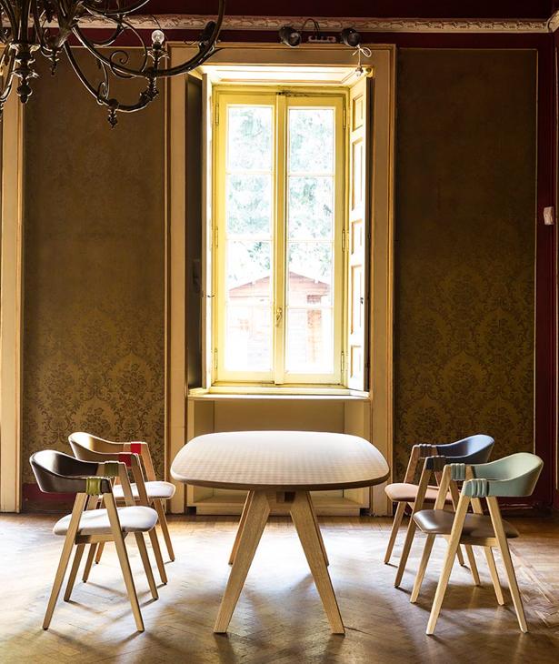Moroso | Mathilda krzesła do jadalni