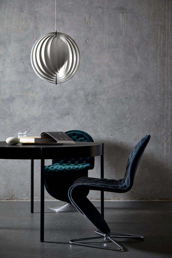 Lamps do salonu Verpan | Moon