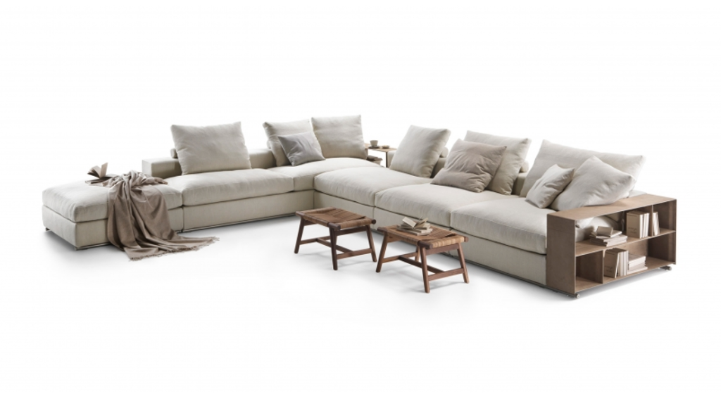 Sofa Groundpiece - projekt Antonio Citterio, 2001