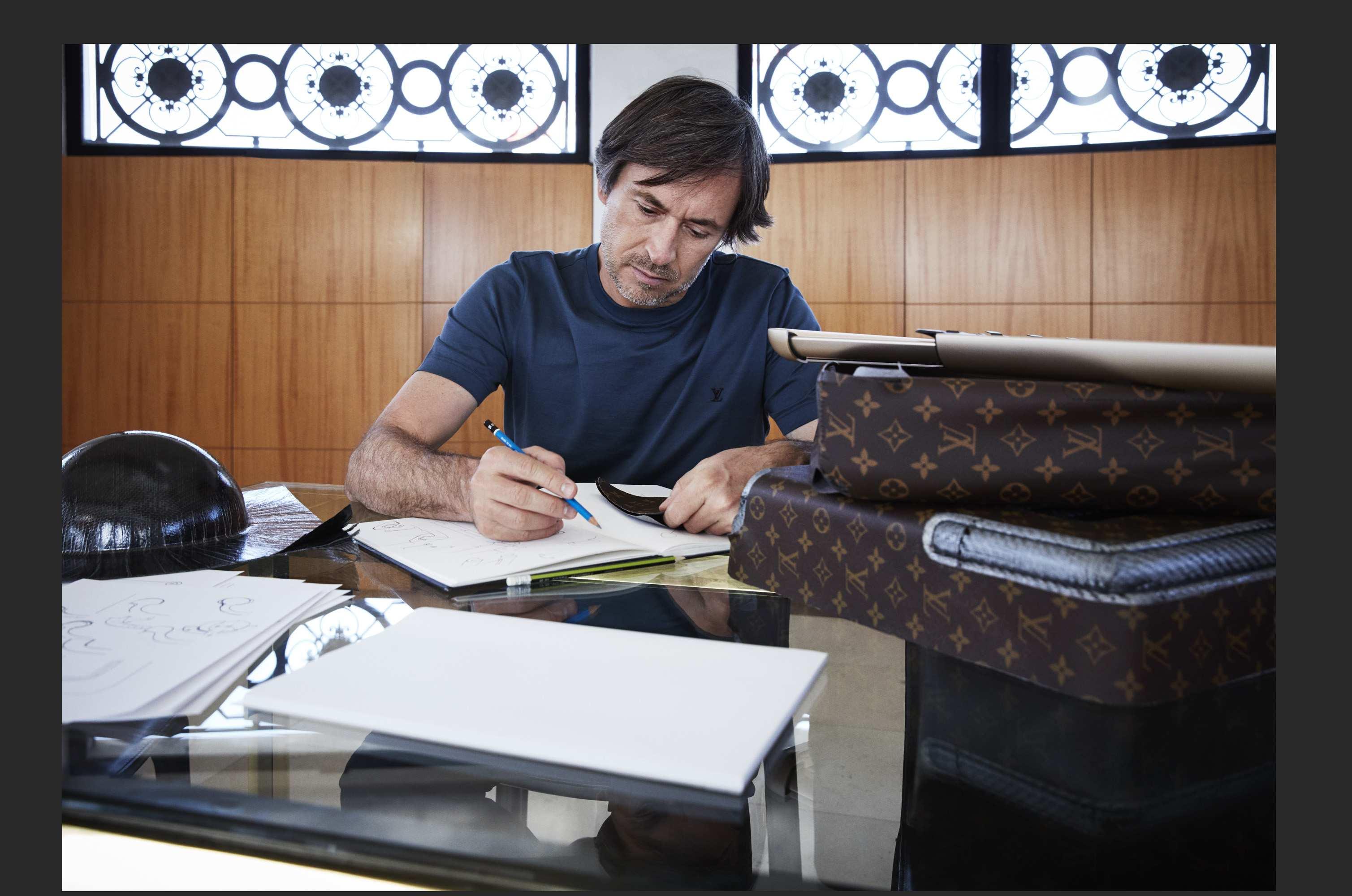 Marc Newson projektuje walizki dla Louis Vuittona