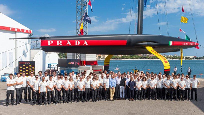 łódź prada-luna-rossa-ac7503