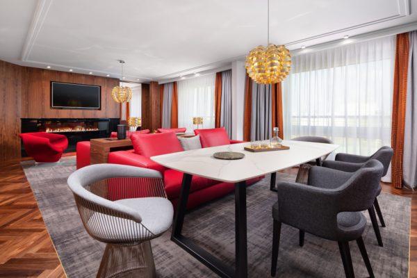 Apartament Prezydencki | salon