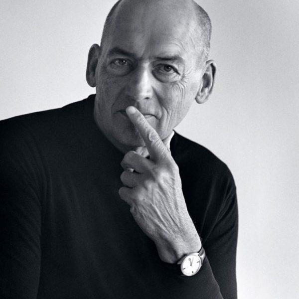 Rem Koolhaas - holenderski architekt - konceptualista.