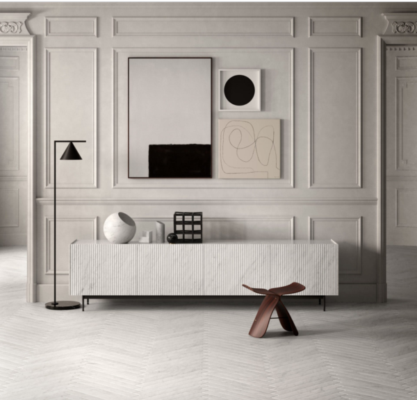 Salvatori - pliss cabinet - projekt Elisa Ossino