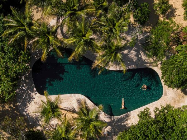 Dom na plaży Studio MK27-sand-house Foto: Fernando Guerra