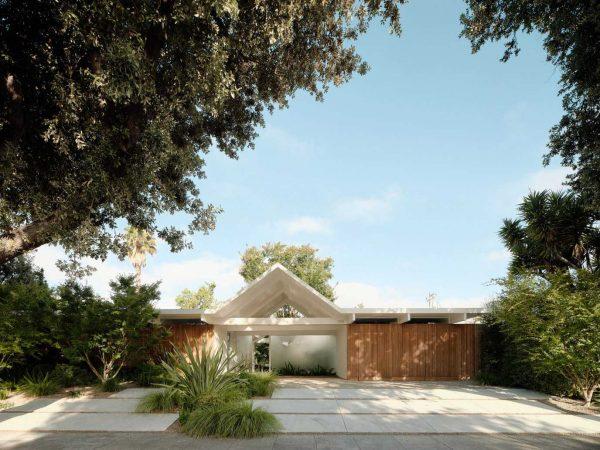 twin-gable-house-eichler-model-ryan-leidner-amerykański modernizm 02